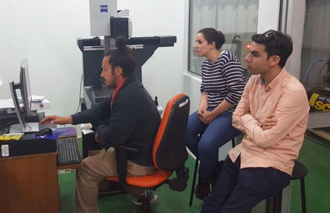 AMS capacita a personal de la Universidad de Antofagasta en Chile