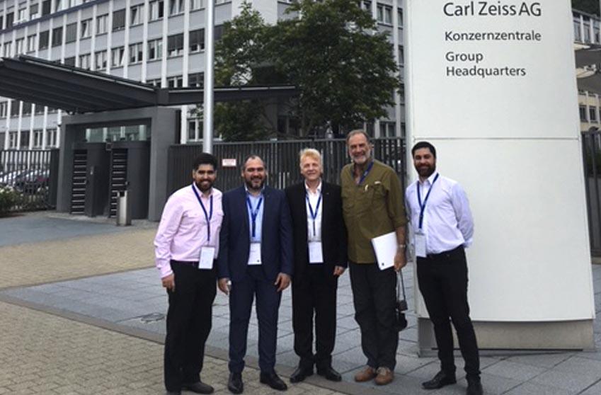 AMS se capacita en Zeiss Alemania
