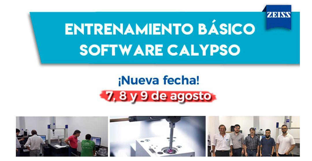 Entrenamiento Básico Software Calypso – Nueva fecha