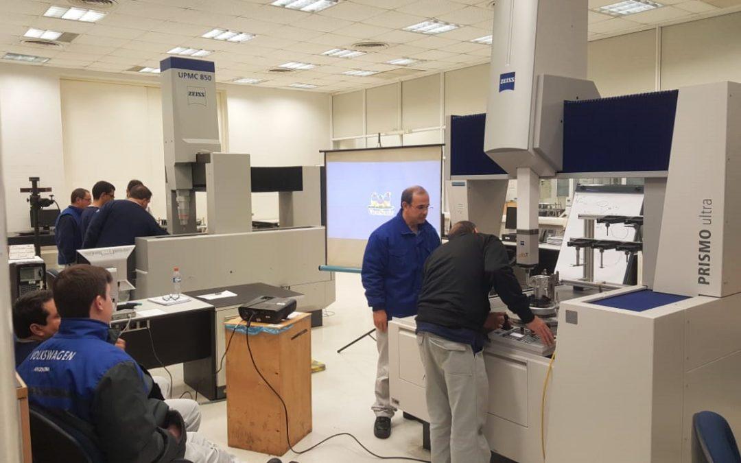 Entrenamiento Software Calypso Básico en Planta Volkswagen Córdoba