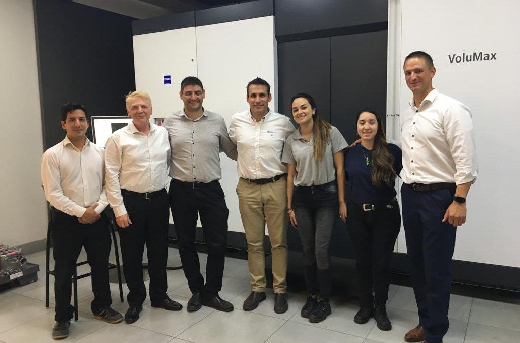 Estuvimos en Fundición Ariente, quien cuenta con el primer Tomógrafo Computado Zeiss en Argentina
